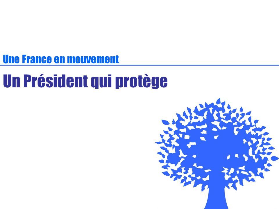 Un Président qui protège Une France en mouvement