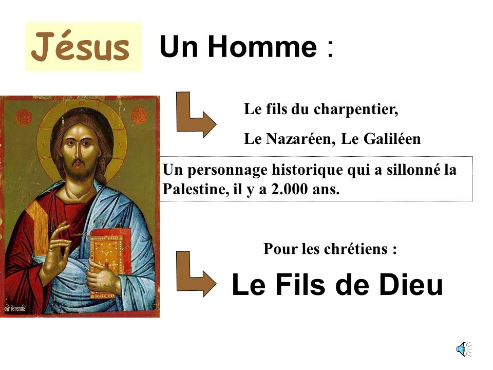 JESUS La venue du Messie UNE NOUVELLE ALLIANCE