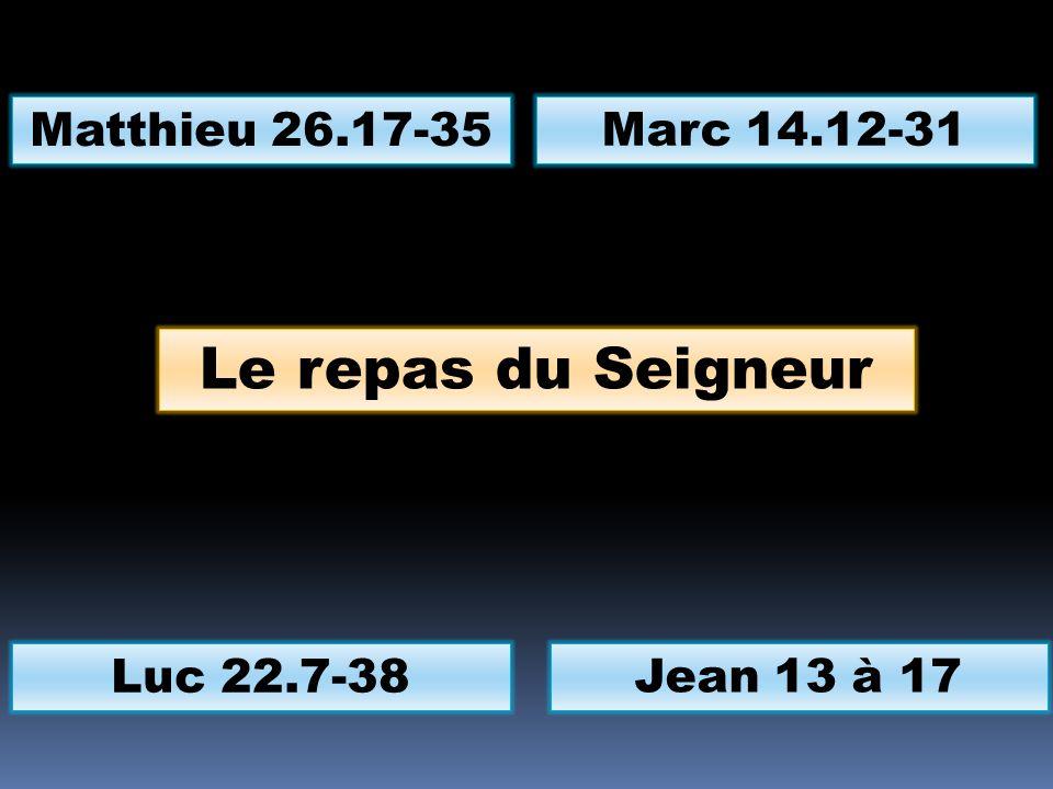 Le repas du Seigneur Que votre cœur ne se trouble pas… La maison du Père… Si vous maimez… Le CEP, le vigneron, les sarments, le fruit…
