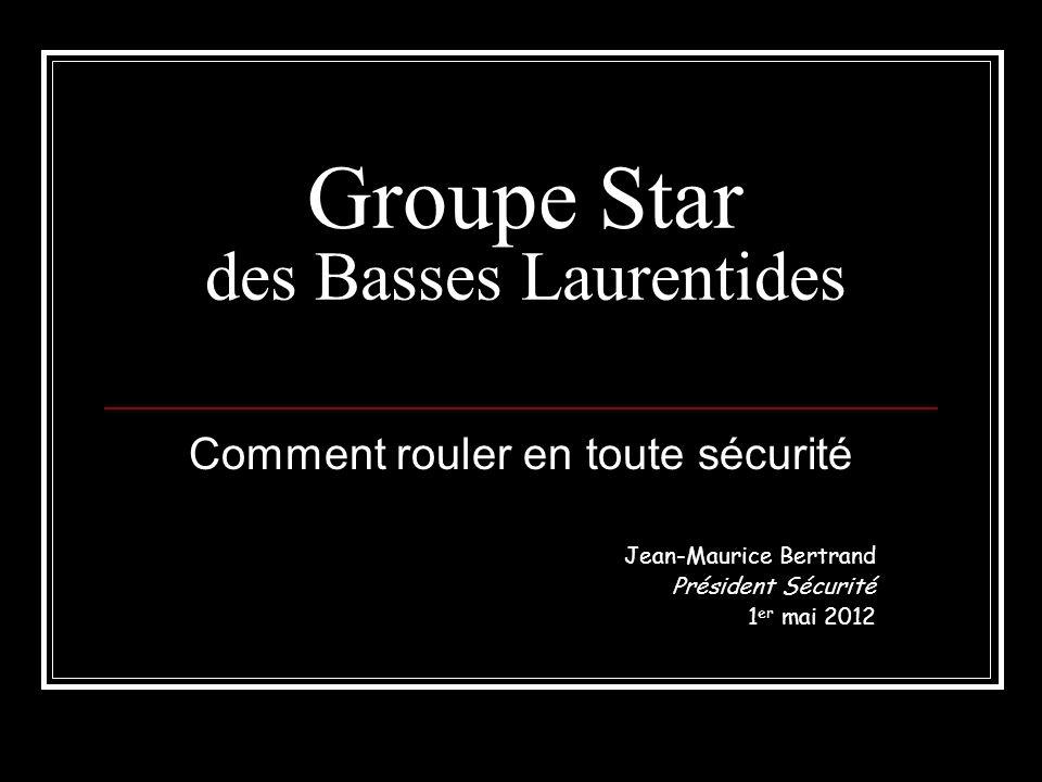 Introduction Cette formation a pour but duniformiser la conduite en groupe au sein du Groupe Star des basses Laurentides ainsi que de sassurer de la sécurité de tout ses membres