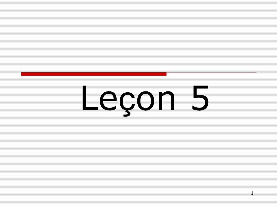 1 Le ç on 5