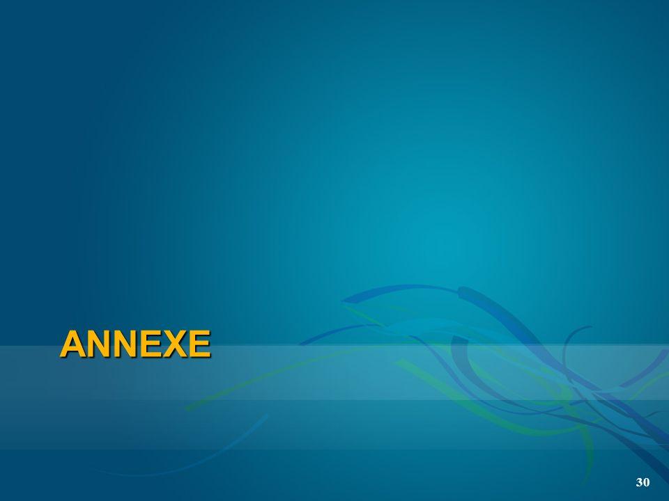 ANNEXE 30