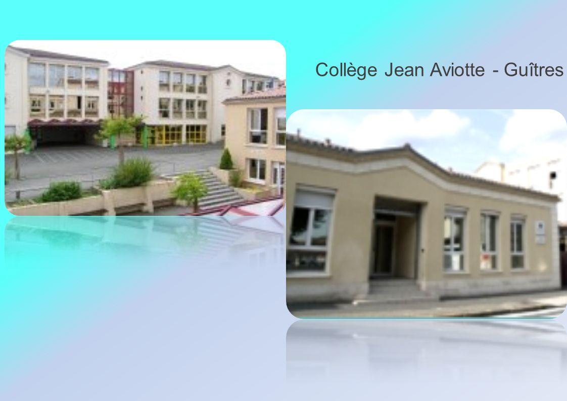Collège Jean Aviotte - Guîtres