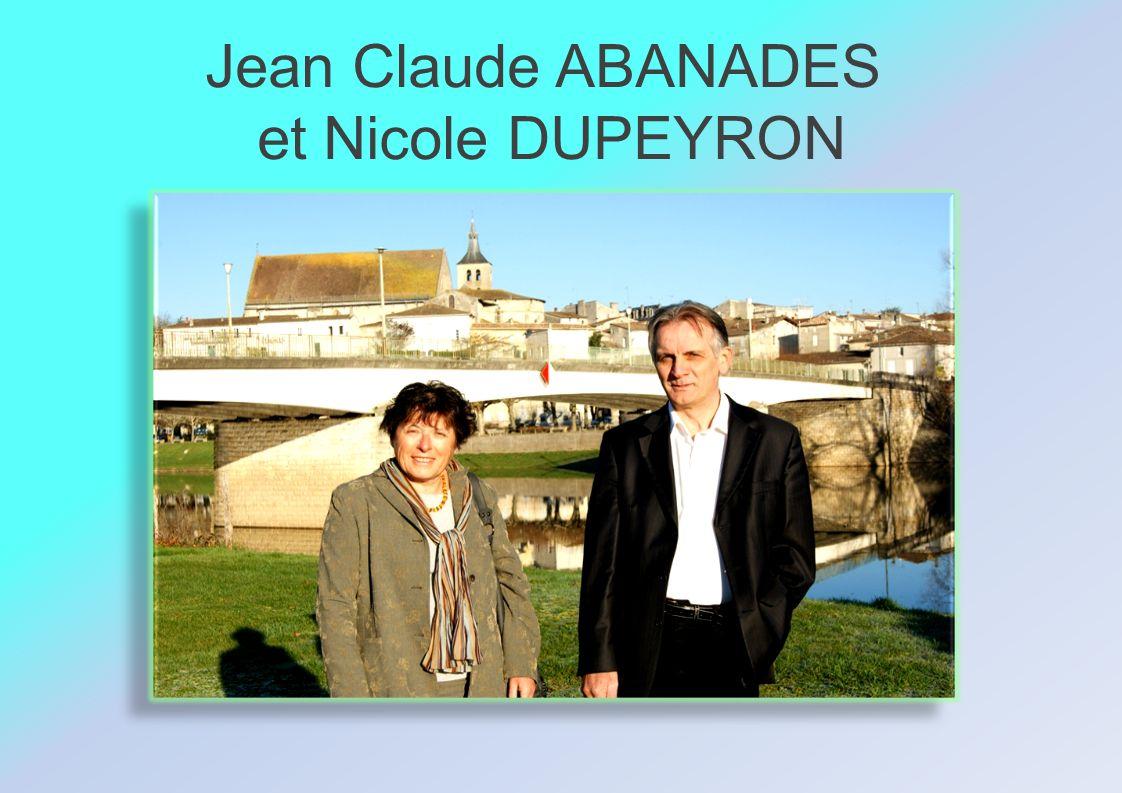 Jean Claude ABANADES et Nicole DUPEYRON