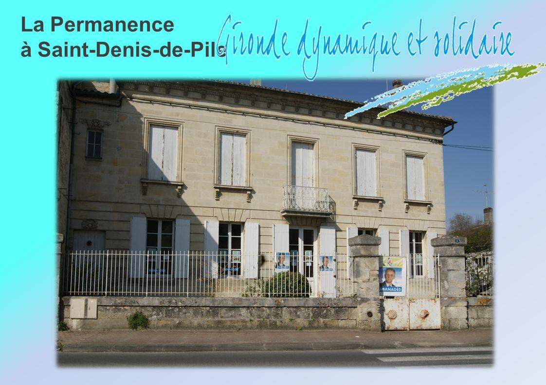 La Permanence à Saint-Denis-de-Pile