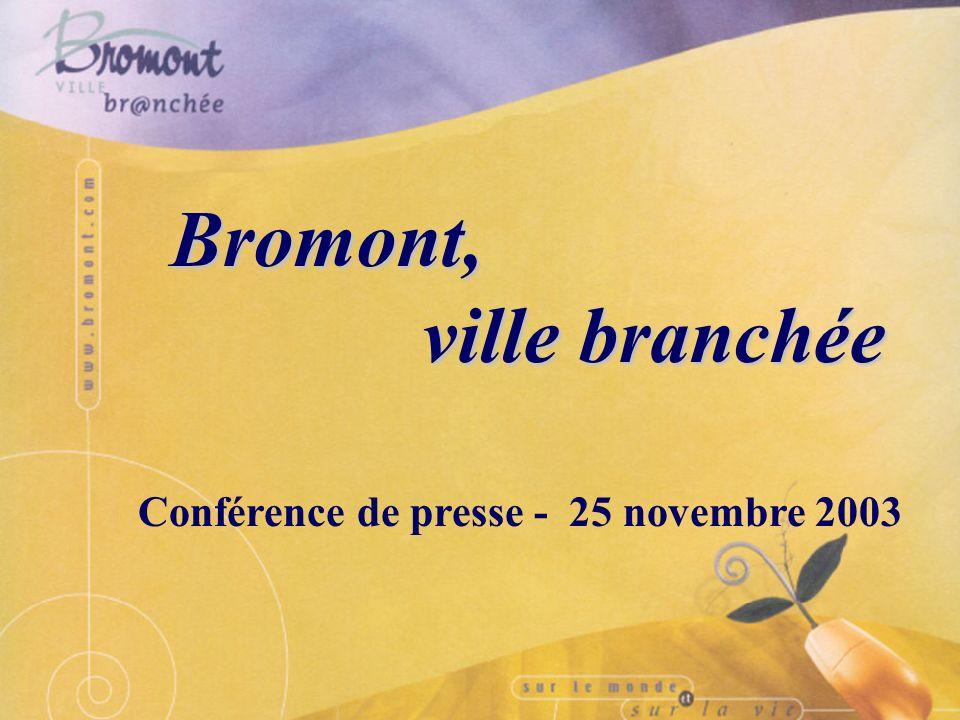 Bromont, ville branchée sur la scène internationale