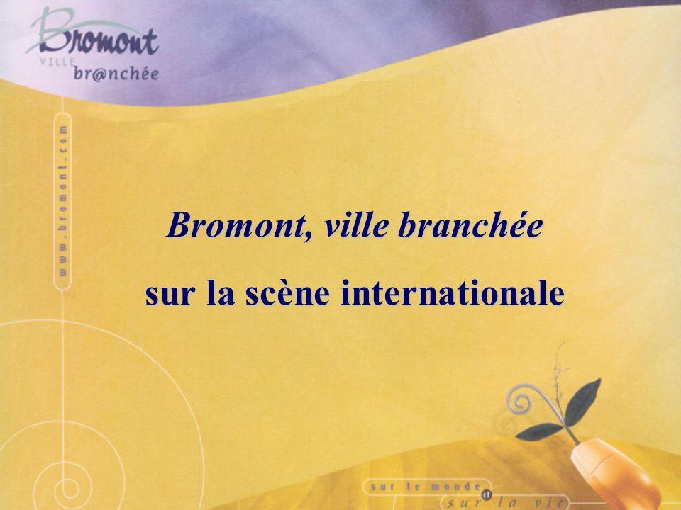 Bromont, ville branchée ville branchée Conférence de presse - 25 novembre 2003