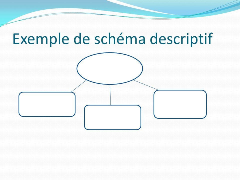 Exemple de schéma descriptif