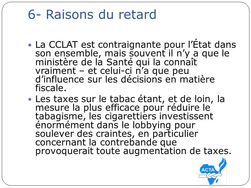 7-travail de la conférence des parties et de la CCLAT La CCLAT prévoyait dès son adoption lélaboration de « directives » (ou « lignes directrices », selon la terminologie proposée par la France) pour lapplication des principaux articles du traité.