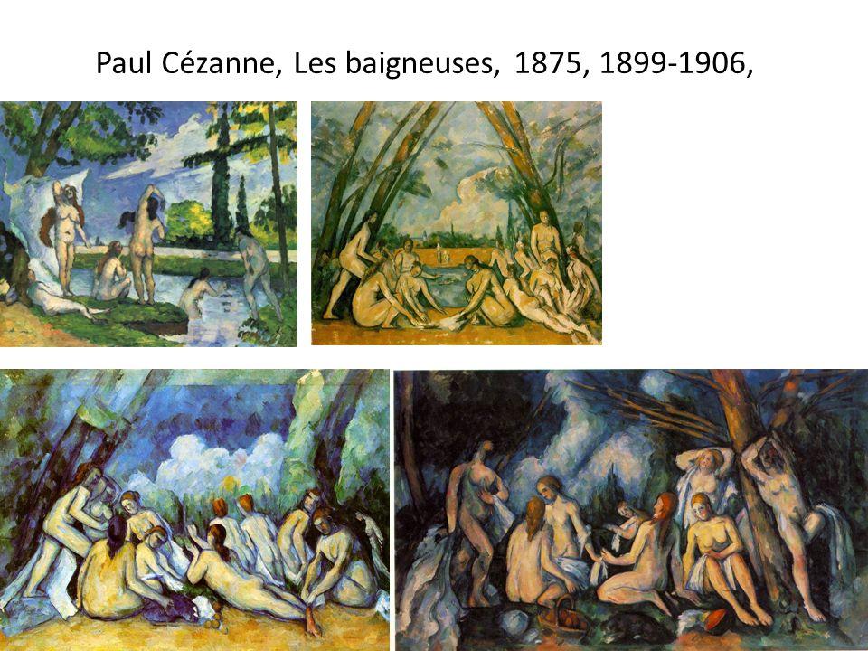 Paul Cézanne, Les baigneuses, 1875, 1899-1906,