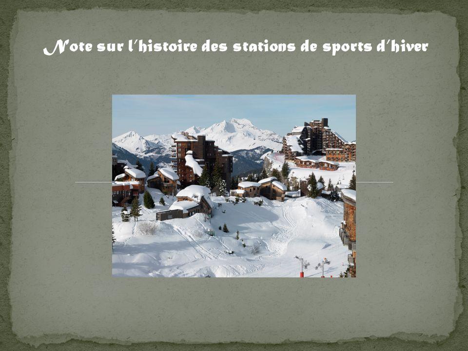 Chaque station de ski, possède une histoire inscrite dans un lieu, rien ne sert de copier, cest le lieu qui dicte ses règles.