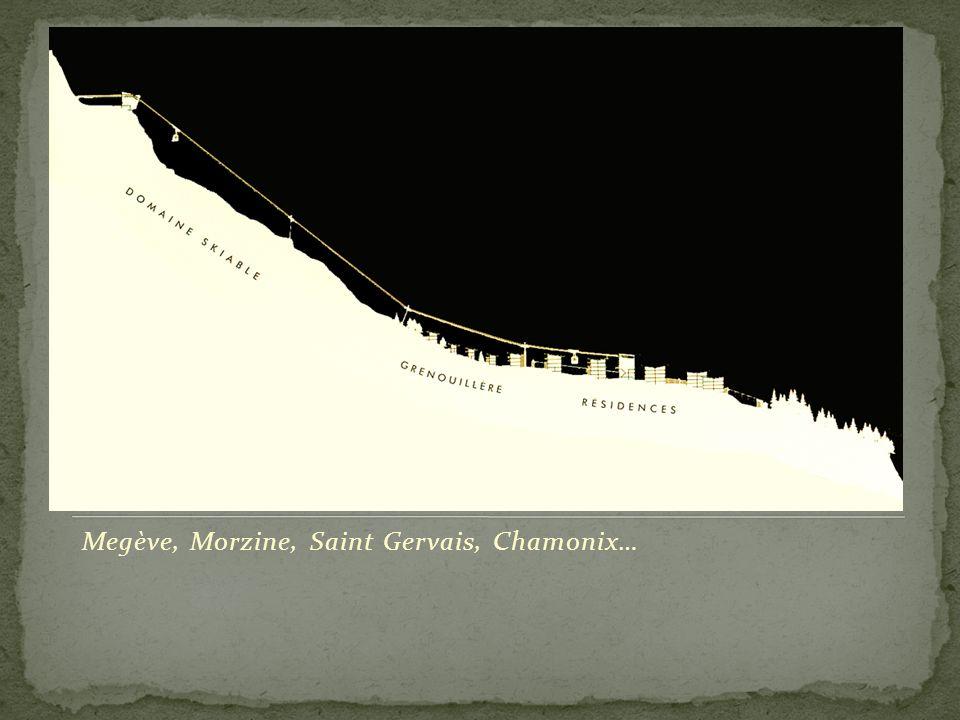 Megève : le chalet de la baronne Noémie de Rothschild, par Henry Jacques Le Même.