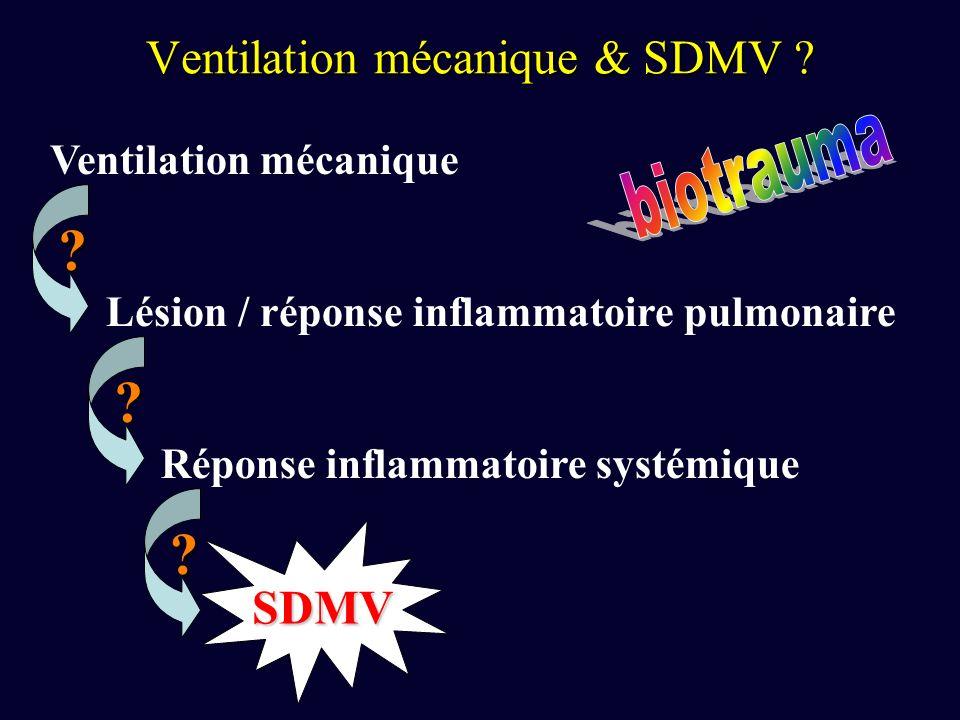 Ventilation mécanique & SDMV .