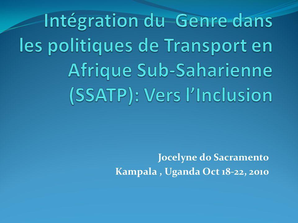Jocelyne do Sacramento Kampala, Uganda Oct 18-22, 2010