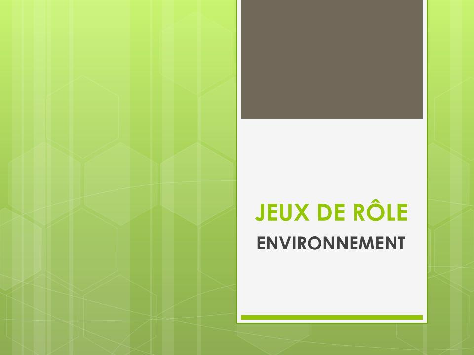 SITUATION Dans le cadre de la Semaine de lenvironnement, votre école organise une conférence afin de sensibiliser les élèves aux principaux enjeux environnementaux de notre époque.