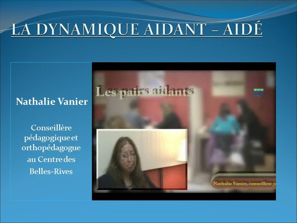 Nathalie Vanier Conseillère pédagogique et orthopédagogue au Centre des Belles-Rives