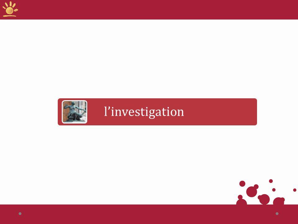 linvestigation