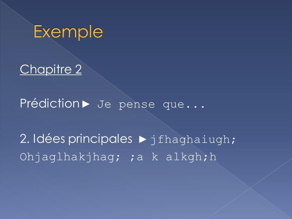 1.Jusquà maintenant, jai appris que….. 2. Si jétais à la place de ___________ je … (explique) 3.