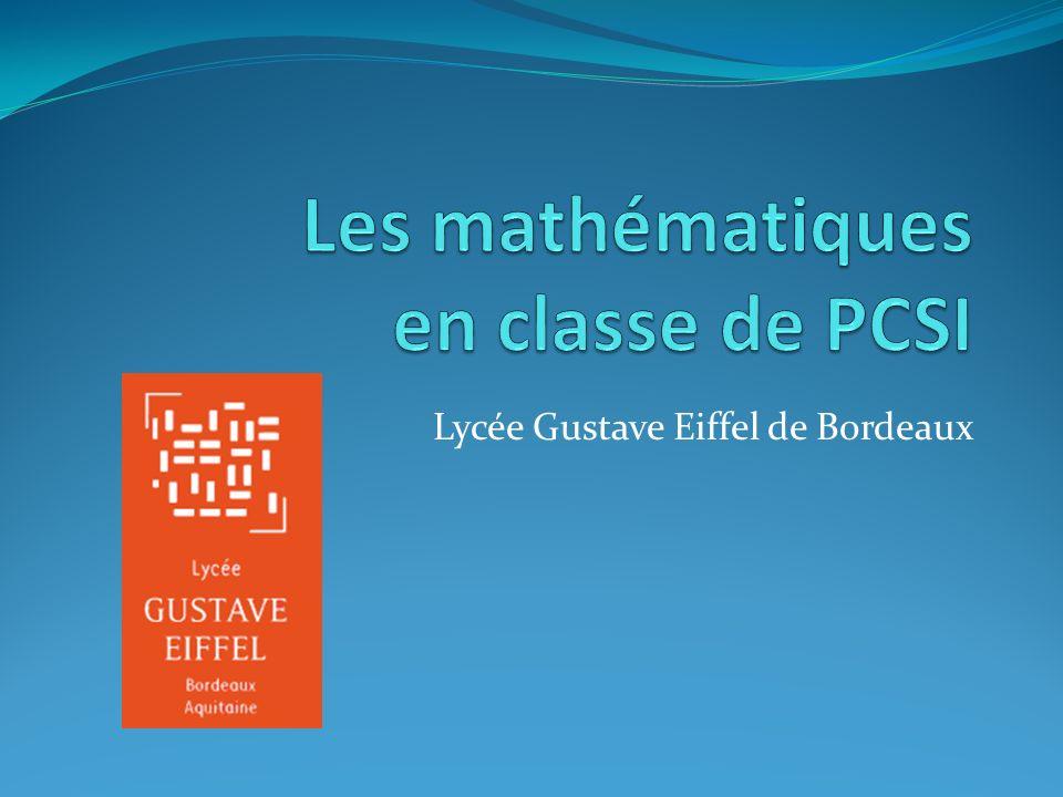 Lycée Gustave Eiffel de Bordeaux