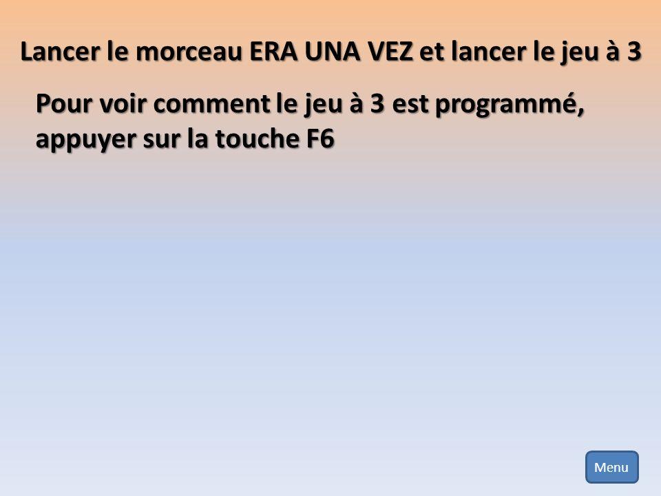 Menu édition du Jeu Pour finir cliquer sur le bouton « Enregistrer » !!!!
