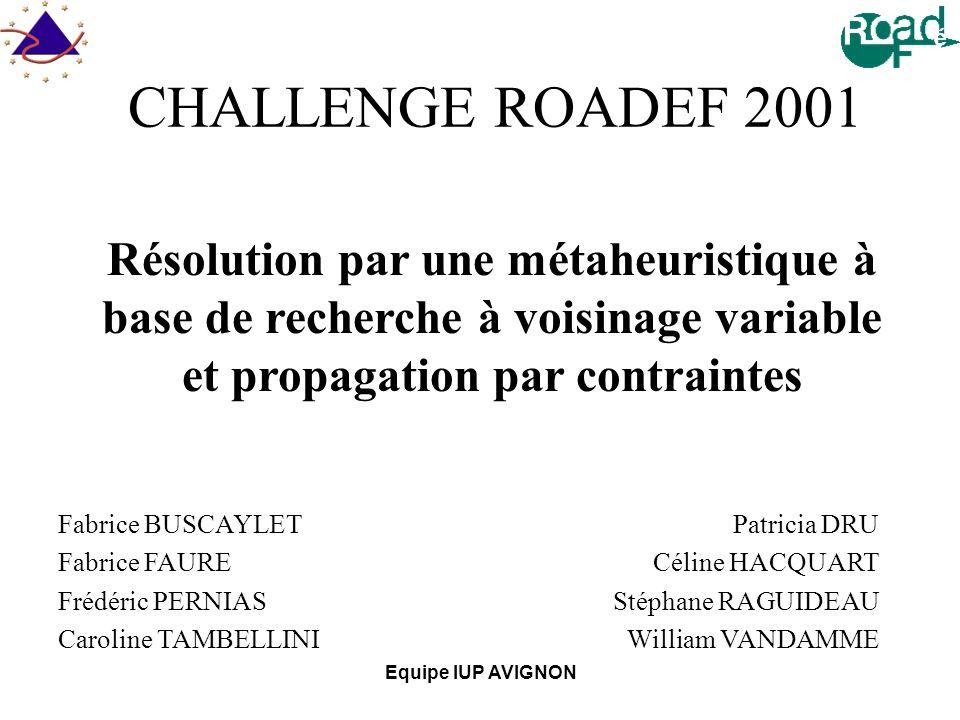 Equipe IUP AVIGNON Introduction 8 étudiants français IUP AVIGNON: Institut Universitaire Professionnalisé Notre Projet de Fin dÉtude