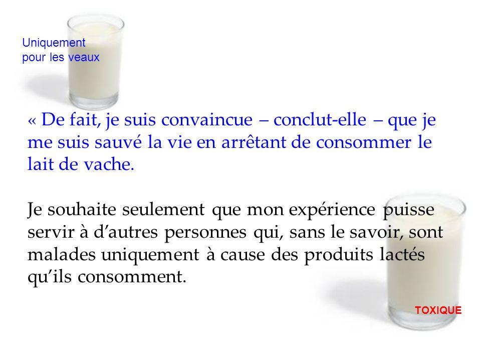 Lexplication se trouve, sans aucun doute, dans la consommation de produits lactés.