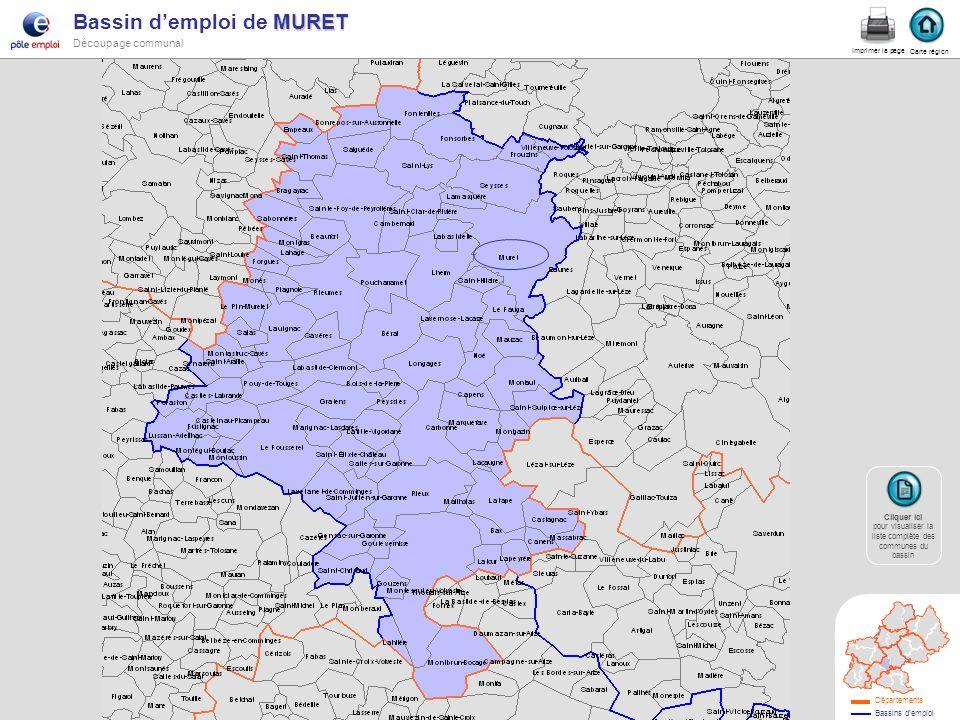 LOURDES Bassin demploi de LOURDES Liste des 89 communes dappartenance Carte région Retour Carte bassin Imprimer la page