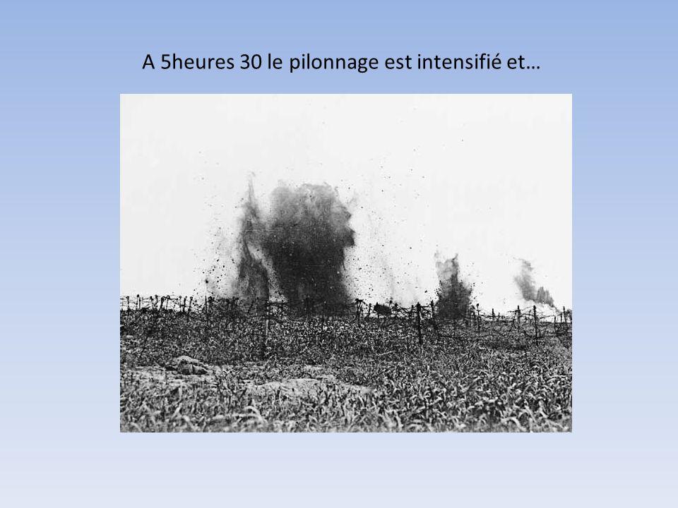 La 1 ère est commandée par le général CURRIE, la 2 ème par BURSTALL, la 3 ème par LIPSET et la 4 ème par WATSON.