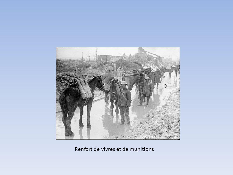 La crête de Vimy demeurera entre les mains des alliés pour toute la durée de la guerre. Cavalerie Canadienne à Vimy