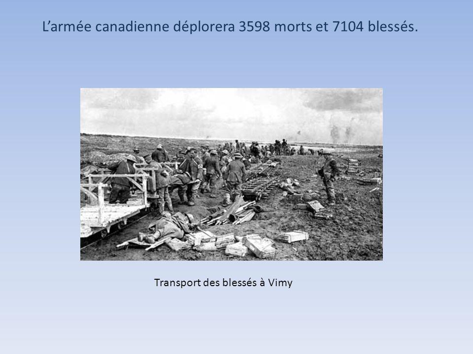 Les Canadiens on fait 3 400 prisonniers en 3 jours sur un front de 14 kilomètres. Prisonniers de guerre Allemands