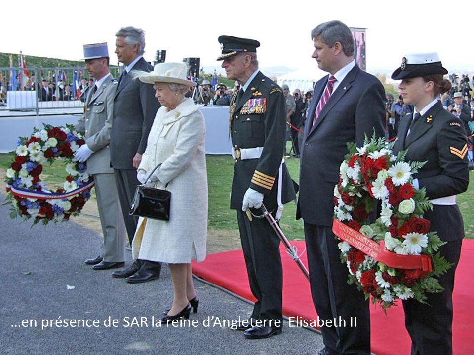 Commémoration du 90 ième anniversaire de la bataille de Vimy…