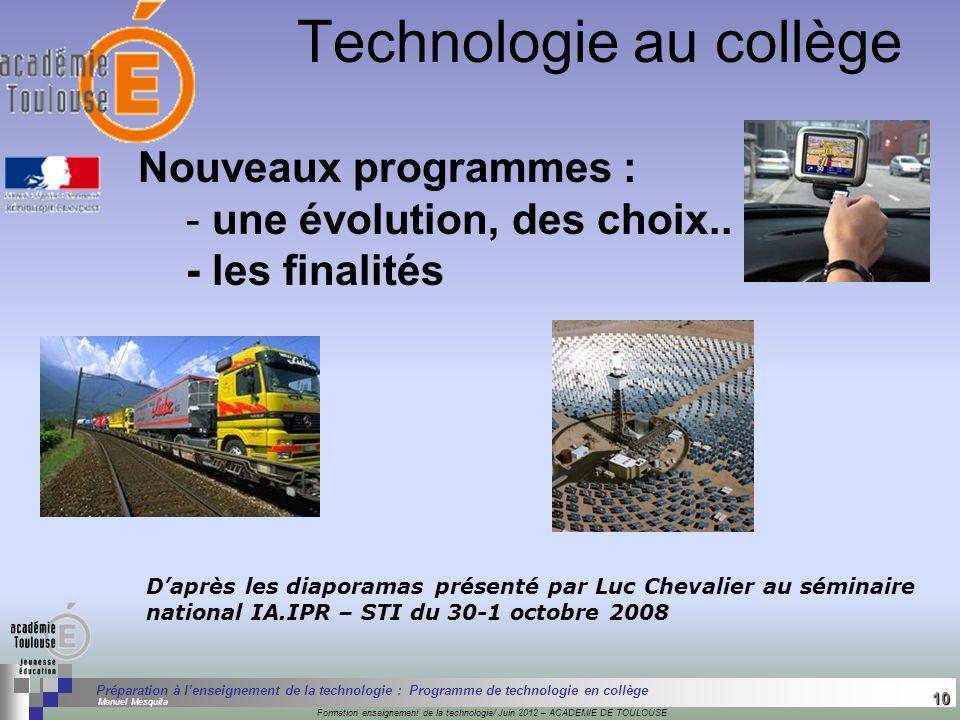 10 Séminaire « Définition de Produits » : méthodologie de définition dune pièce GREC INITIALES Formation enseignement de la technologie/ Juin 2012 – A