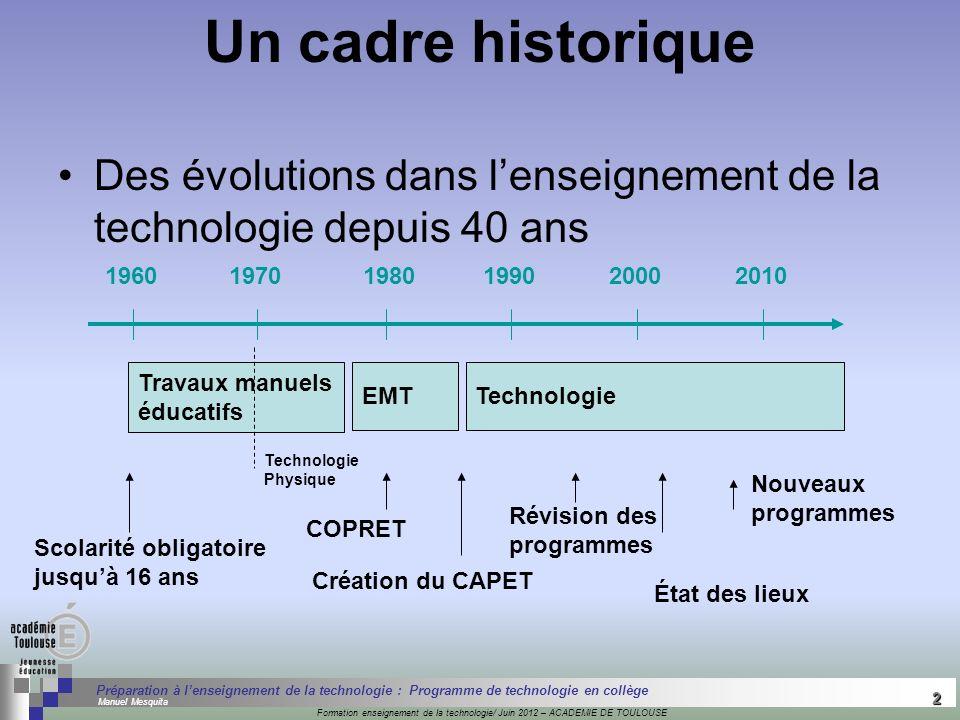 2 Séminaire « Définition de Produits » : méthodologie de définition dune pièce GREC INITIALES Formation enseignement de la technologie/ Juin 2012 – AC