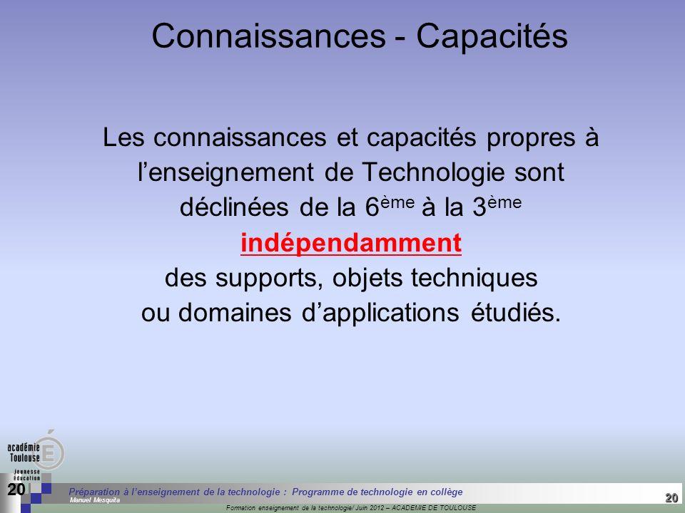20 Séminaire « Définition de Produits » : méthodologie de définition dune pièce GREC INITIALES Formation enseignement de la technologie/ Juin 2012 – A