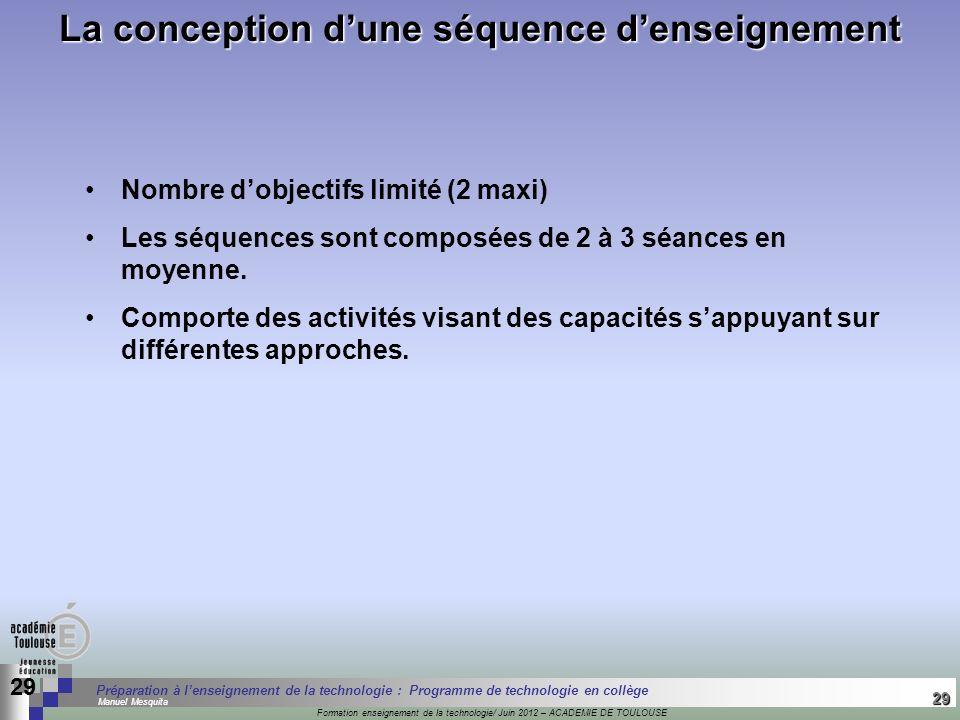 29 Séminaire « Définition de Produits » : méthodologie de définition dune pièce GREC INITIALES Formation enseignement de la technologie/ Juin 2012 – A