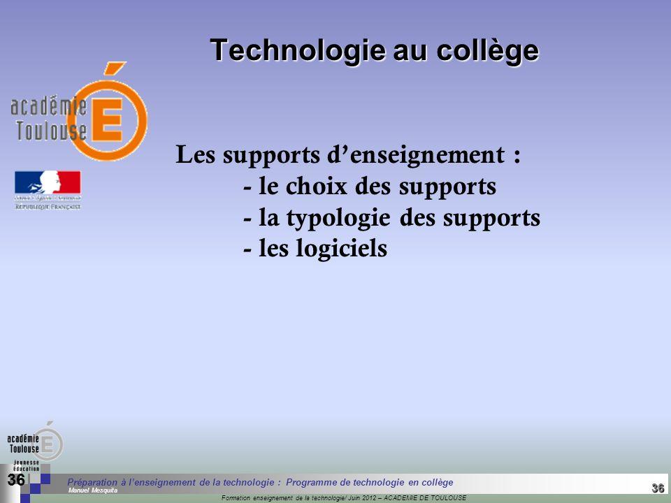 36 Séminaire « Définition de Produits » : méthodologie de définition dune pièce GREC INITIALES Formation enseignement de la technologie/ Juin 2012 – A