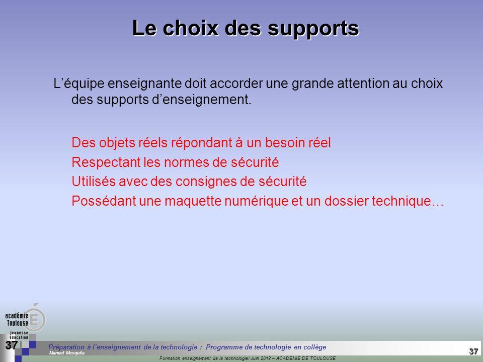 37 Séminaire « Définition de Produits » : méthodologie de définition dune pièce GREC INITIALES Formation enseignement de la technologie/ Juin 2012 – A