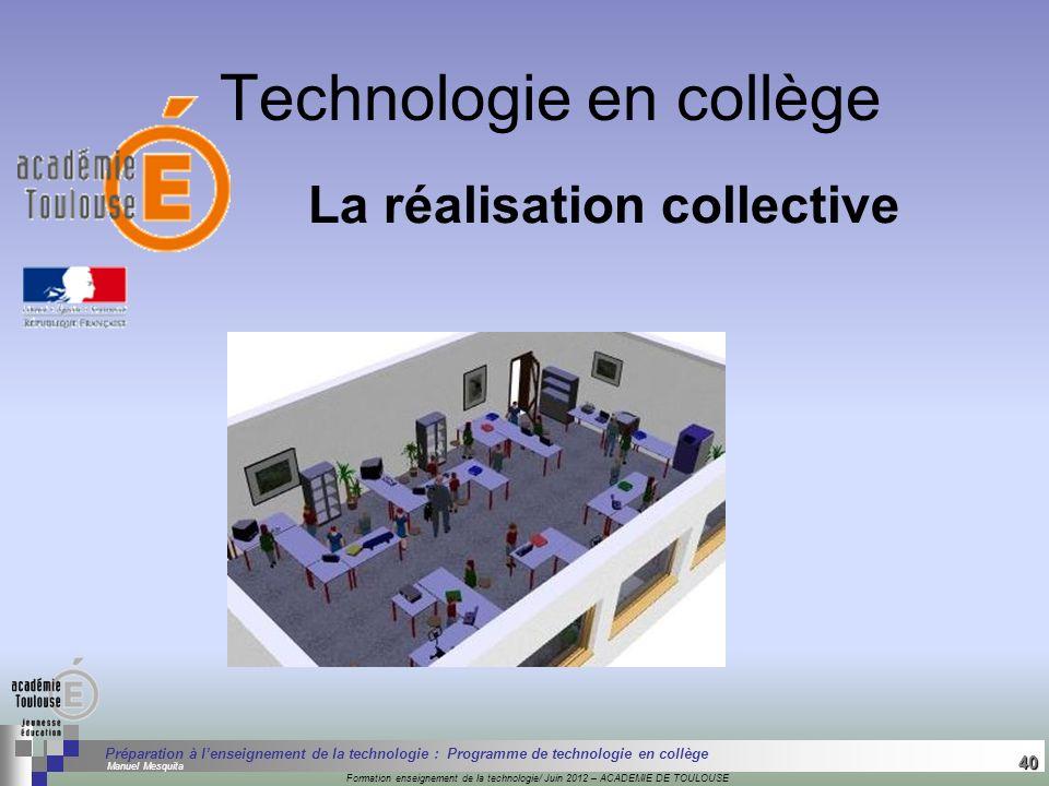 40 Séminaire « Définition de Produits » : méthodologie de définition dune pièce GREC INITIALES Formation enseignement de la technologie/ Juin 2012 – A