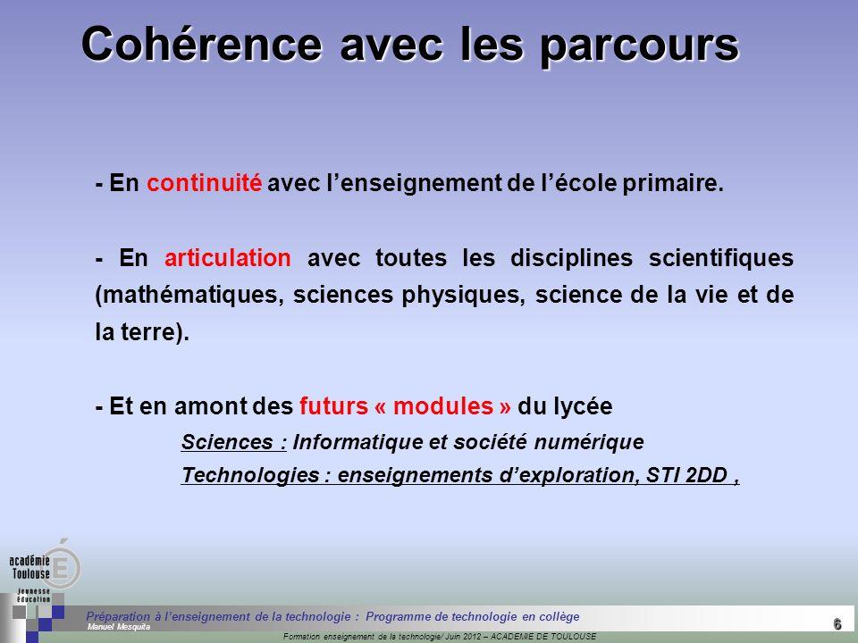 6 Séminaire « Définition de Produits » : méthodologie de définition dune pièce GREC INITIALES Formation enseignement de la technologie/ Juin 2012 – AC