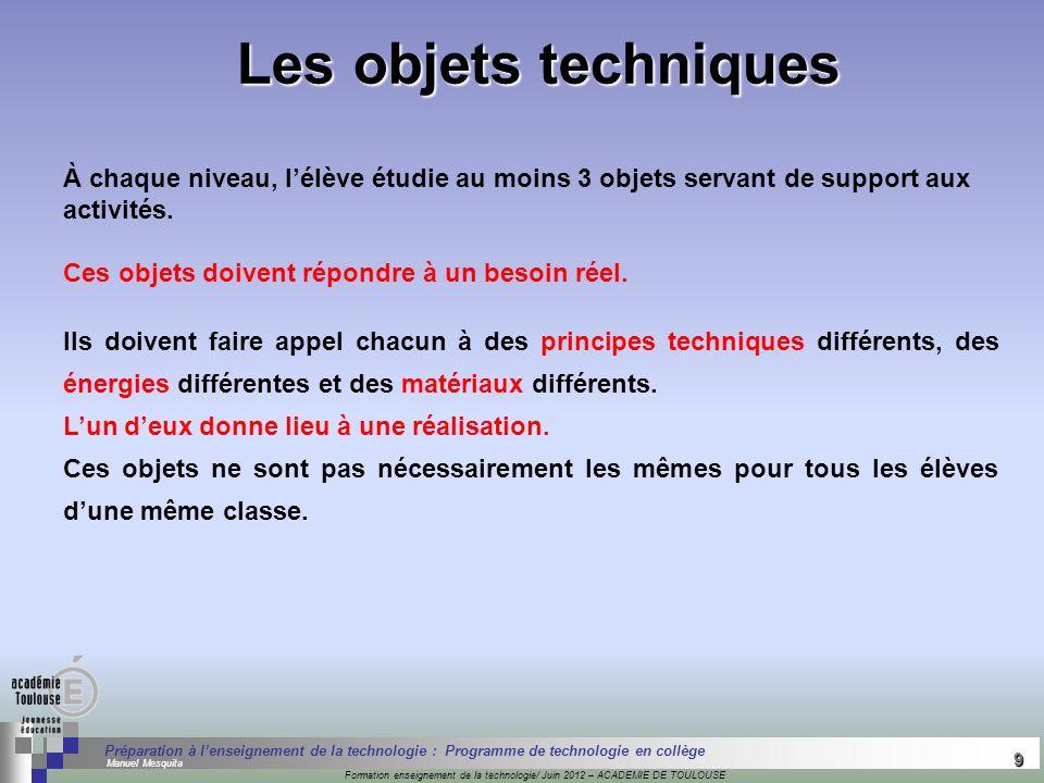 9 Séminaire « Définition de Produits » : méthodologie de définition dune pièce GREC INITIALES Formation enseignement de la technologie/ Juin 2012 – AC
