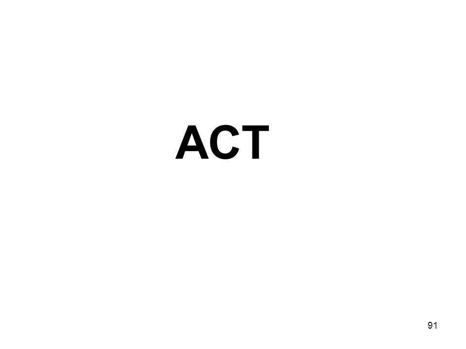 91 ACT