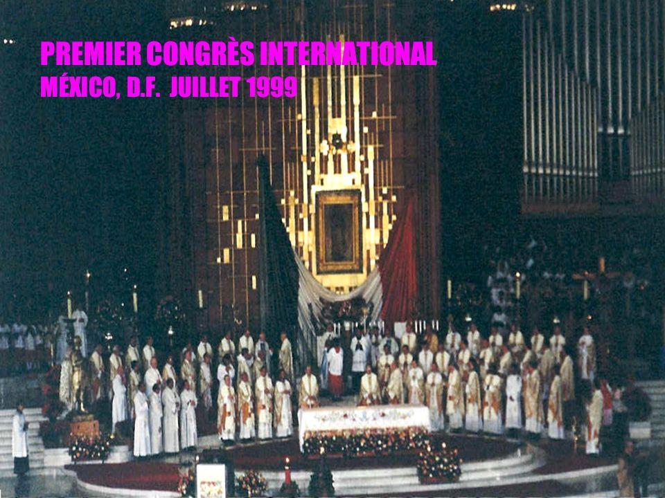 11 PREMIER CONGRÈS INTERNATIONAL MÉXICO, D.F. JUILLET 1999