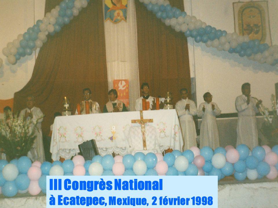 6 III Congrès National à Ecatepec, Mexique, 2 février 1998