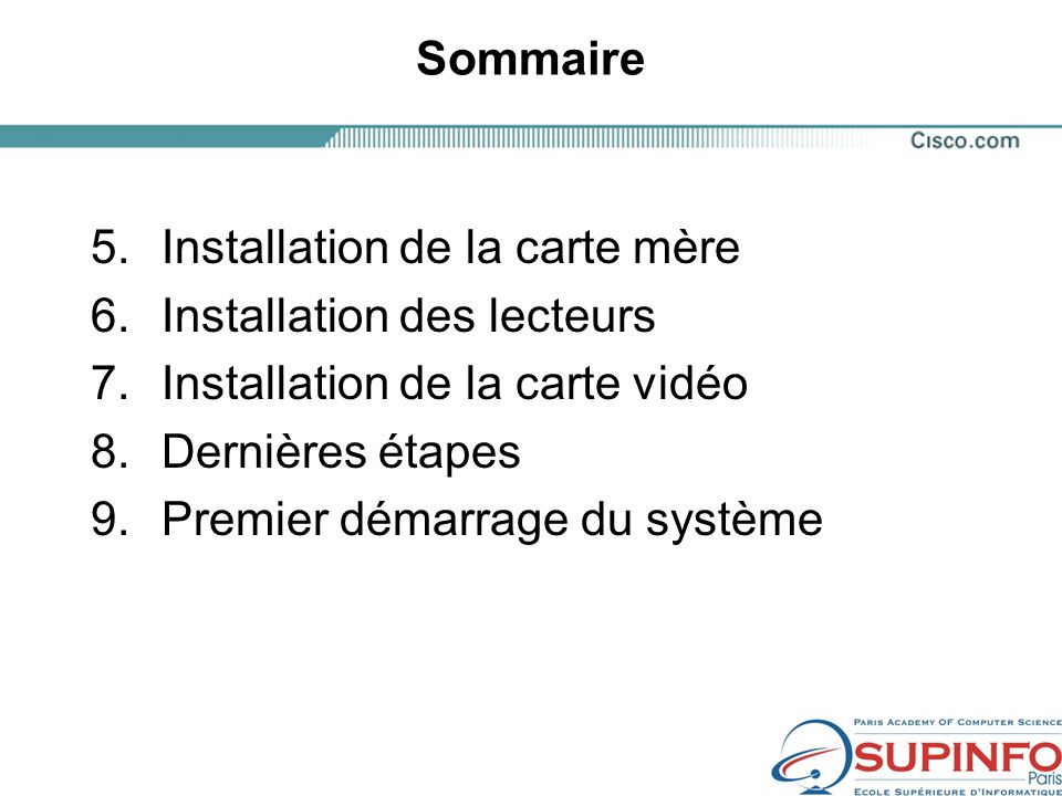 Brochage du connecteur dalimentation