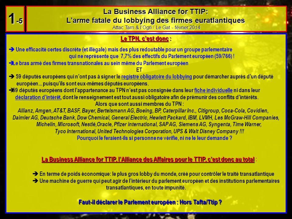 Le sommet discret de la honte au Shangri La ***** Attac Tarn & lOgri / Le Gat - février 2014 2 -1 Spot Tafta : Spot Tafta : Source http://www.amchameu.eu/TTIP/tabid/400/Default.aspx http://www.amchameu.eu/TTIP/tabid/400/Default.aspx Le site de lAmerican Chamber of commerce to the EU (membre de la Business Alliance for TTIP) fait la promotion dune de ces réunions discrètes, le jeudi 10 avril 2014, loin des regards citoyens, au très luxueux Hôtel Shangri La, un des représentants de cette génération récente de palaces cinq étoiles où une chambre se négocie à 800 en premier prix, une suite jusquà 18 000 la nuit et où lon peut même soffrir tout le dernier étage pour 25 000, soit léquivalent de plus de 17 fois le SMIC.