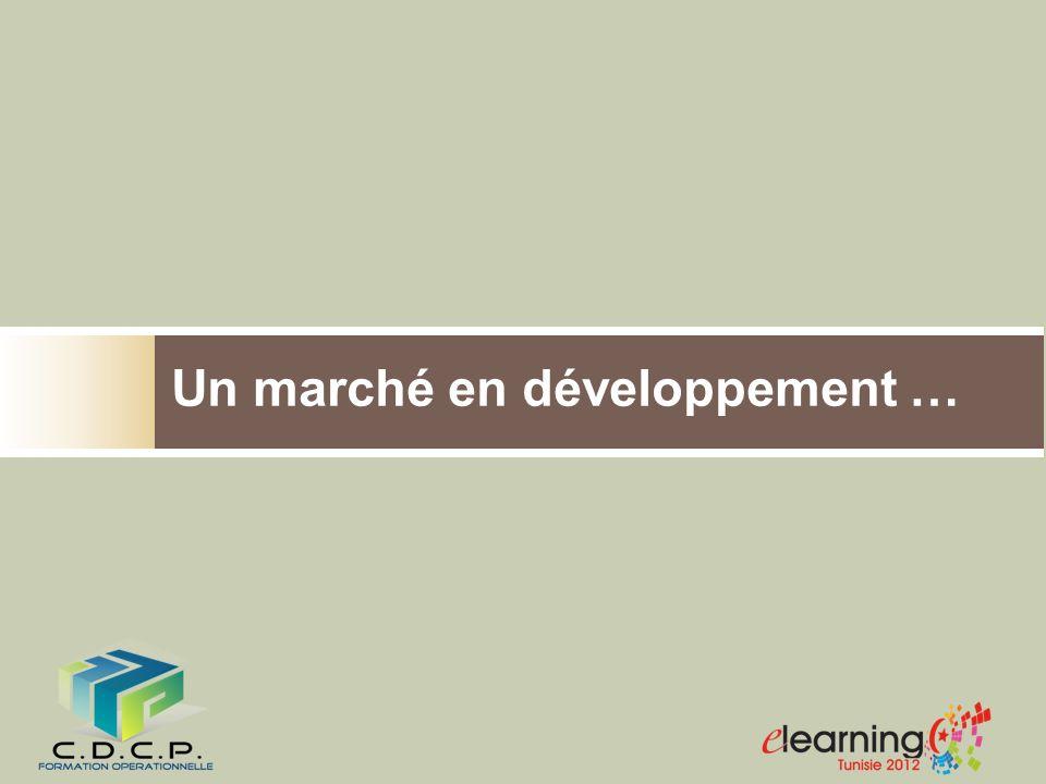 Un marché en développement …