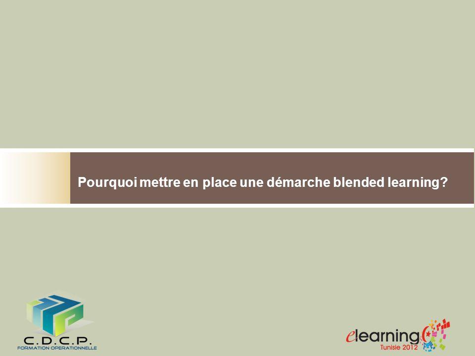 Blended Learning Efficacité des modalités de formation.