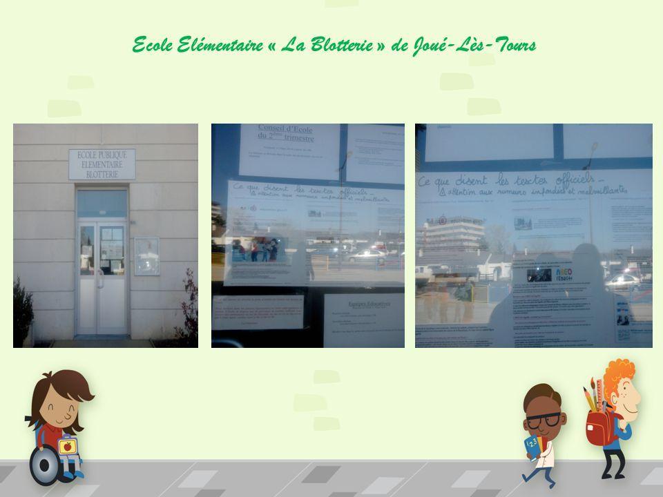 Ecole Elémentaire « La Blotterie » de Joué-Lès-Tours