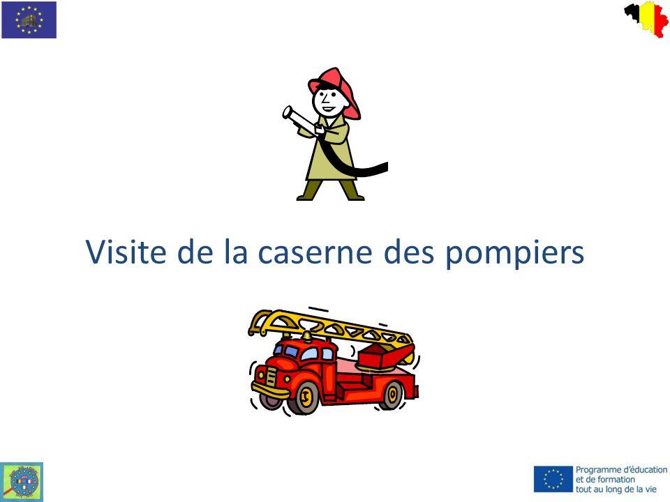 Quelques informations La caserne de la ville de Liège compte 30 pompiers professionnels.