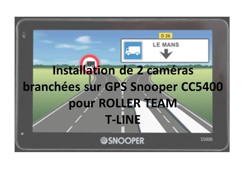 Installer 2 caméras sur le même écran, un pour le stationnement et un pour la rétrovision.